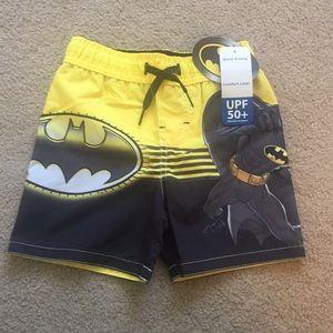 Batman Swim Trunks - Size 3T